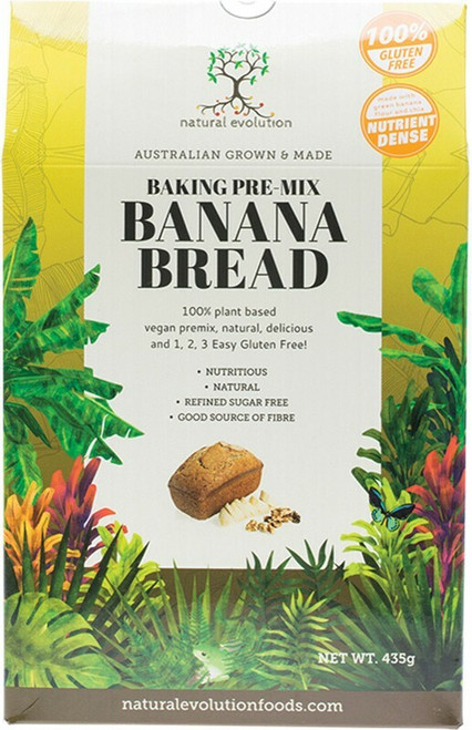 Natural Evolution Banana Bread 435g