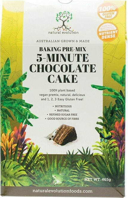 Natural Evolution Chocolate Cake 465g