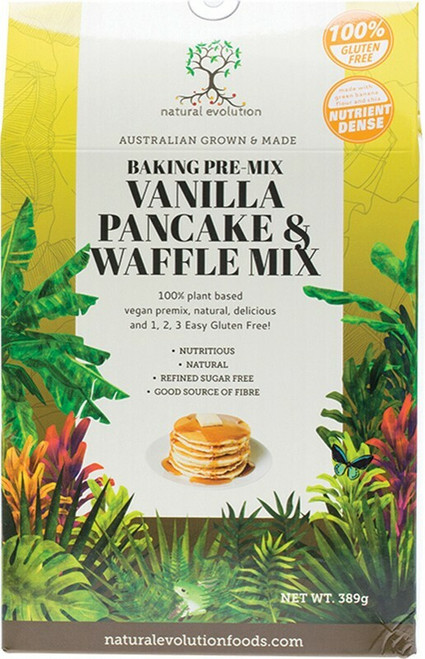 Natural Evolution Van Pancake Mix 389g