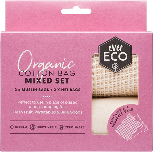 Ever Eco Mixed Set Produce Bags 4Pk