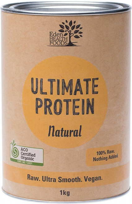 EDEN HEALTHFOODS Ultimate Protein Sprouted Brown Rice - Natural 1kg