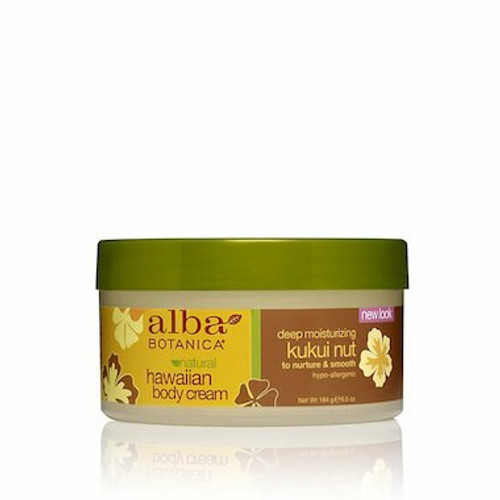 ALBA HAWAIIAN Body Cream Kukui Nut