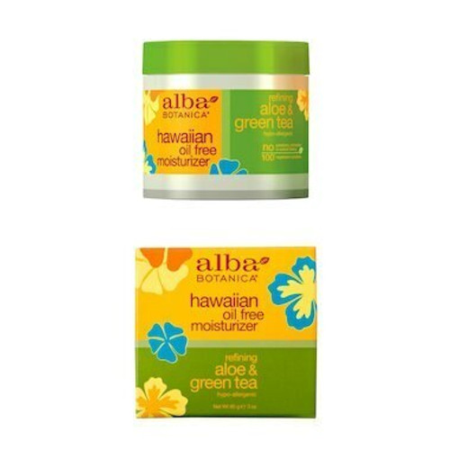 Alba hawaiian Moisturiser Aloe & Green Tea Oil