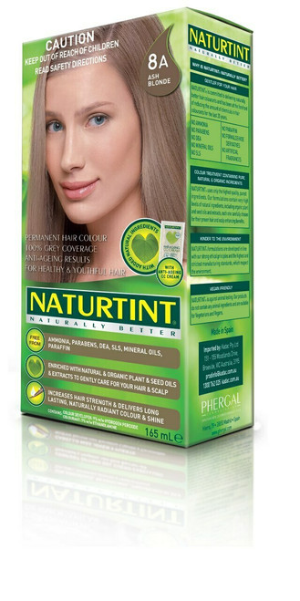 NaturTint Ash Blonde 8A 155ml