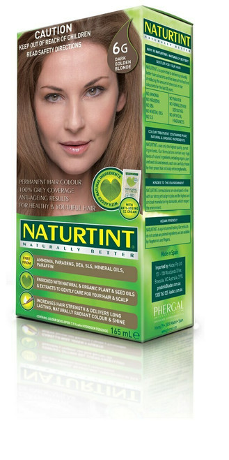 NaturTint Dark Golden Blonde 6G 155ml