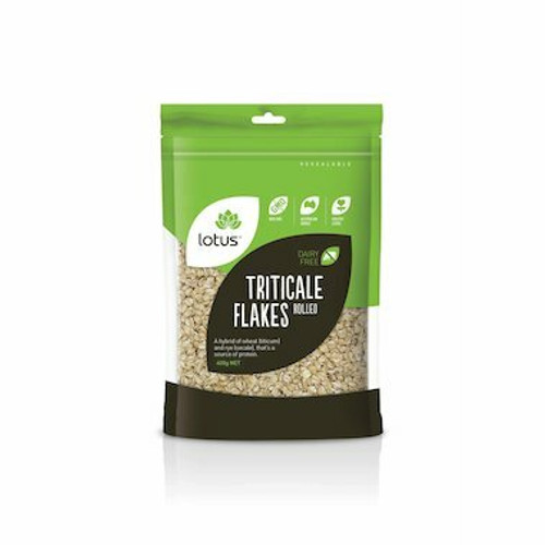 Lotus Triticale Flakes Rolled 400g