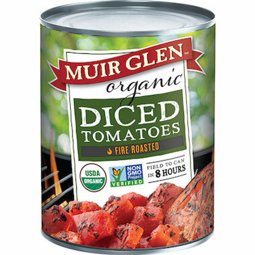 Muir Glen Tomatoes Fire Roasted Diced Organic 794g