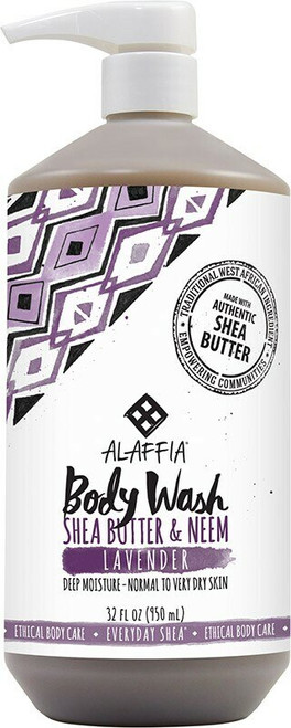 ALAFFIA Everyday Shea Body Wash - Lavender 950ml