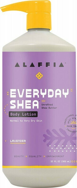 ALAFFIA Everyday Shea Body Lotion - Lavender 950ml