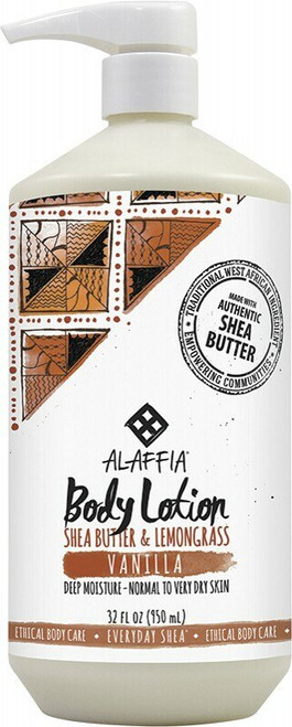 Alaffia Vanilla Body Lotion 950ml