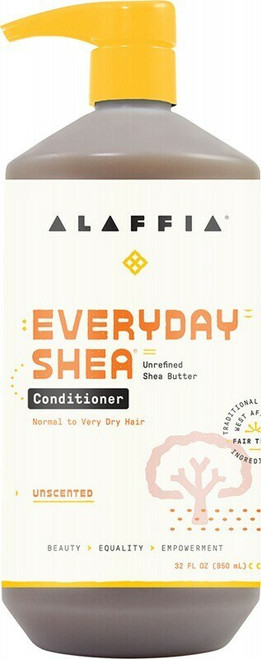 Alaffia Unscented Conditioner 950ml