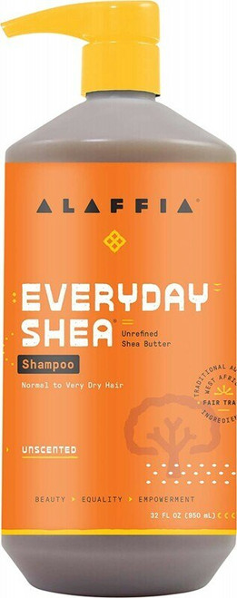 ALAFFIA Everyday Shea Shampoo - Unscented 950ml