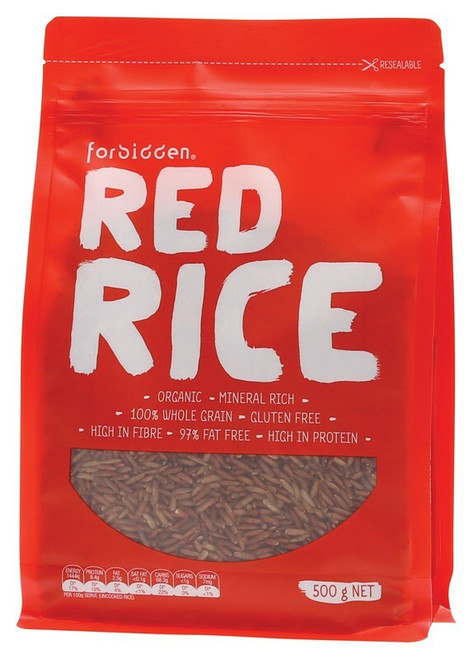 FORBIDDEN Red Rice 97% Fat Free - High Protein 500g
