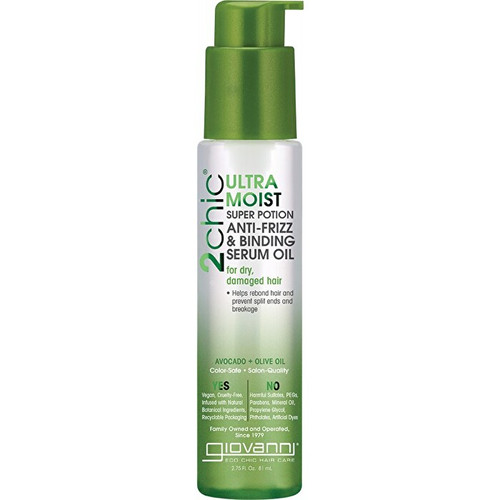 Giovanni 2Chic Avocado & Olive Oil Anti Frizz Serum 81ml