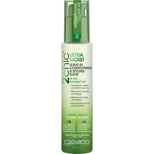 Giovanni 2Chic Avocado & Olive Oil Leave In Elixir 118ml