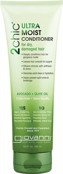 GIOVANNI Conditioner - 2chic Ultra-Moist (Dry, Damaged Hair) 250ml