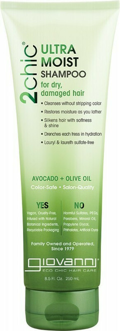 GIOVANNI Shampoo - 2chic Ultra-Moist (Dry, Damaged Hair) 250ml