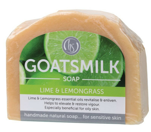 Lime Goat's Milk Soap 140g By Harmony Soapworks