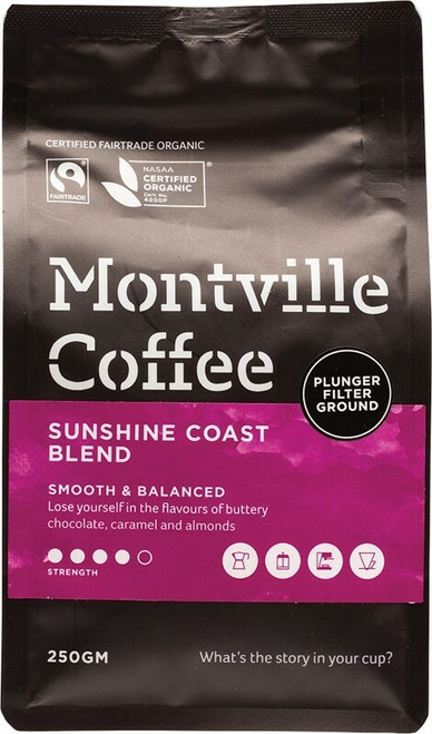 Montville Coffee Coffee For Plunger 250g