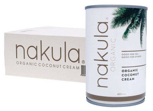 Nakula Coconut Cream Carton 12 x 400g