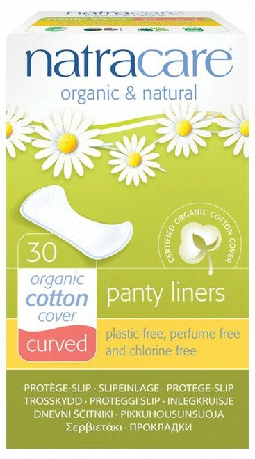 Natracare Curved Panty Liners 30 Liners