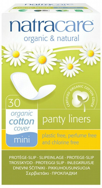 Natracare Mini Panty Liners 30 Liners