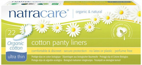 Natracare Ultra Thin Panty Liners 22 Liners