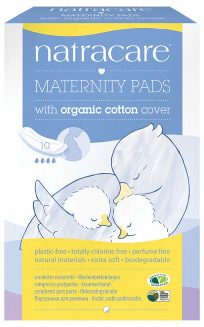 Natracare Maternity Pads 10 Pads