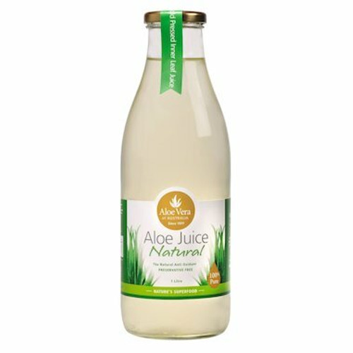 Aloe Vera Of Australia Aloe Juice Natural 1L