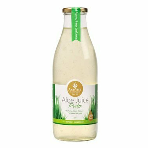 Aloe Vera Of Australia Aloe Juice Pulp 1L