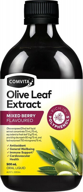 Olive Leaf Extract Berry 500ml
