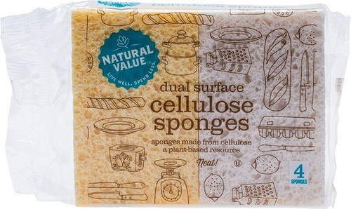 Natural Value Cellulose Sponges 4