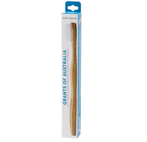Grants Adult Bamboo Toothbrush Medium