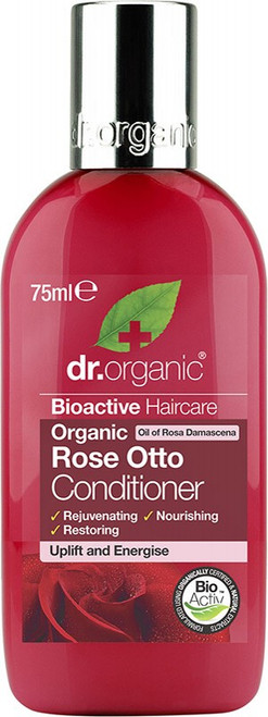 Dr. Organic Travel Size Conditioner Organic Rose Otto 75ml