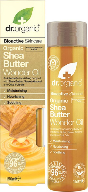 Dr. Organic Wonder Oil Organic Shea Butter 150ml