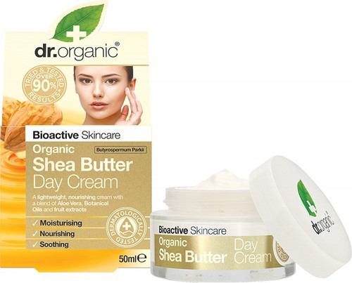 Dr. Organic Day Cream Organic Shea Butter 50ml