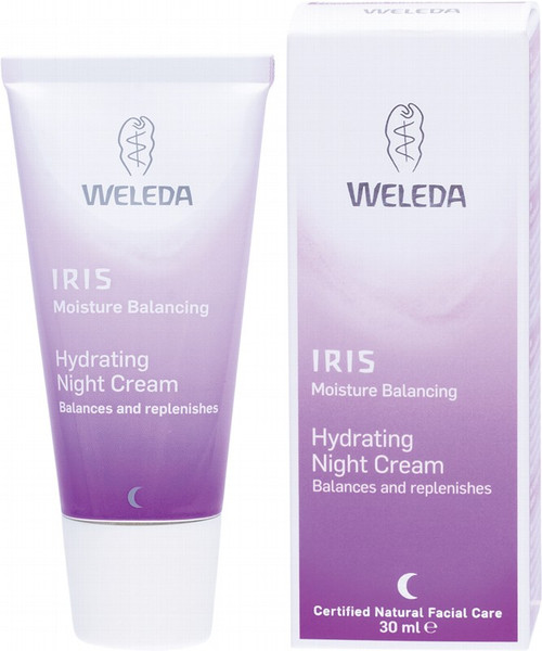Weleda Hydrating Night Cream Iris 30ml