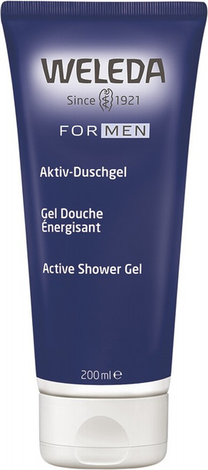 Weleda Active Shower Gel  Men 200ml