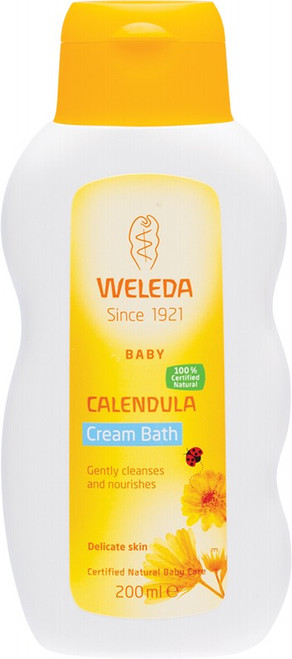 Weleda Calendula Cream Bath  Baby 200ml