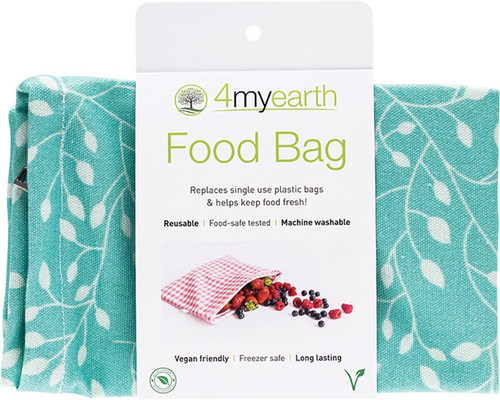 4MyEarth Food Bag Leaf - 25x20cm