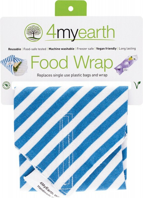 4MyEarth Food Wrap Denim Stripe 30x 30cm