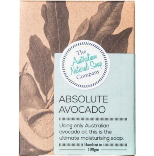 The Australian Natural Soap Co Absolute Avocado  Unscented 100g