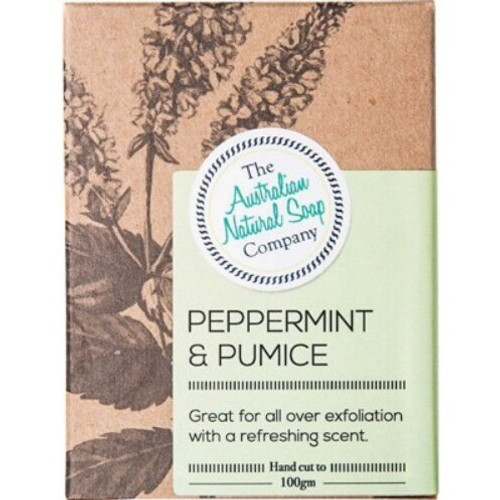 The Australian Natural Soap Co Peppermint & Pumice 100g