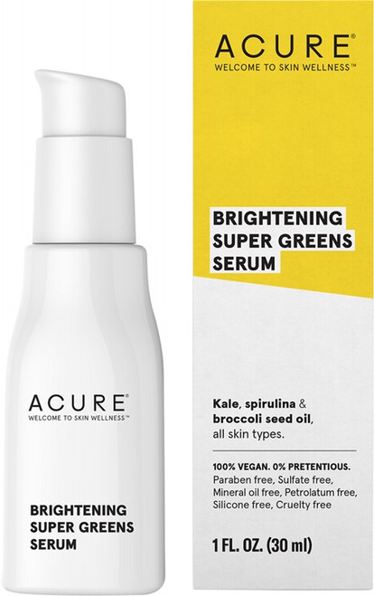 Acure Brightening Super Greens Serum 30ml
