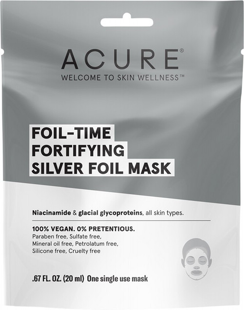 ACURE Foil-Time Fortifying Silver Foil Mask 20ml