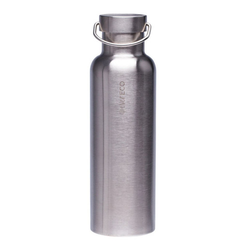 Ever Eco Stainless Steel Bottle Insulated Brushed Stainless 750ml