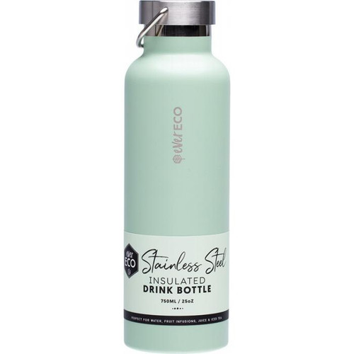 Ever Eco Stainless Steel Bottle Insulated Sage 750ml