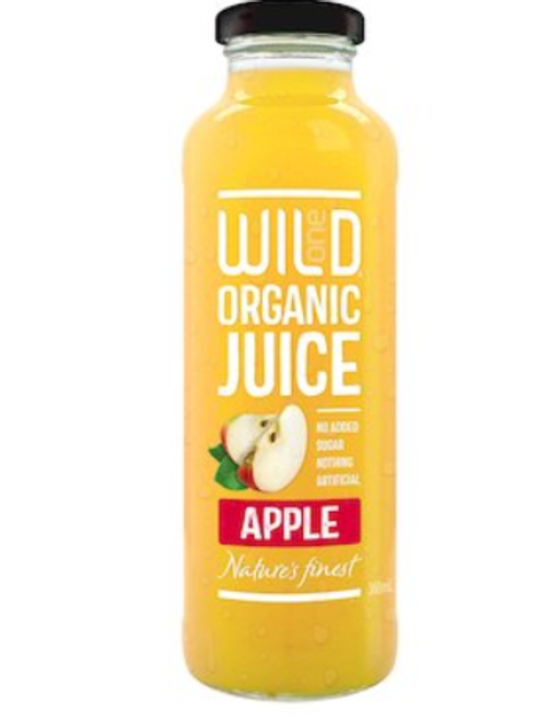 WILD APPLE JUICE ORGANIC 360mL