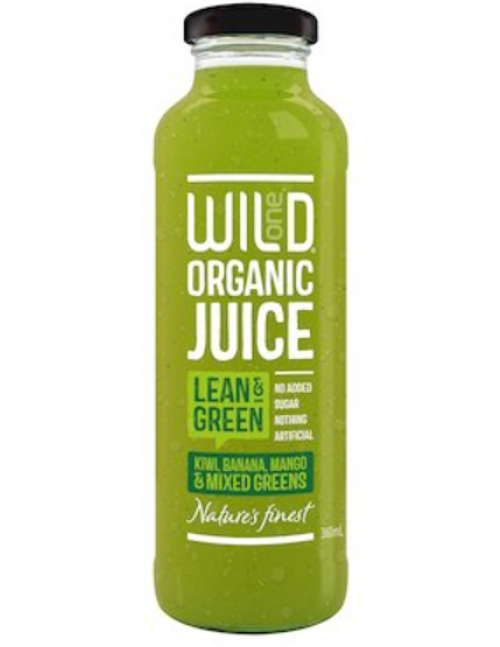 WILD LEAN & GREEN JUICE ORGANIC 360mL
