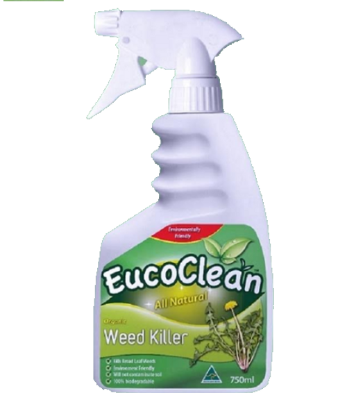 EucoClean Organic Weed Killer 750ML